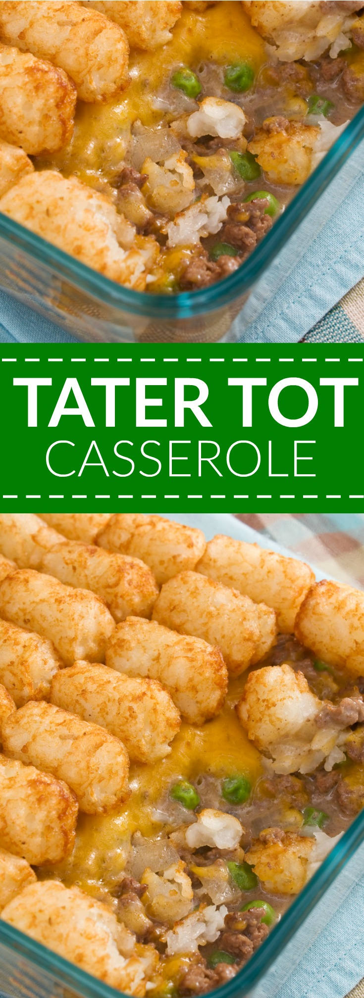 Tater Tot Casserole Recipe with gluten free options
