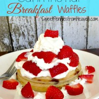 Dr. Seuss Cat in the Hat Waffles
