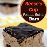 Reese Cup Peanut Butter Bars