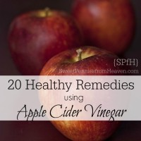 Healthy Ways to use apple cider vinegar