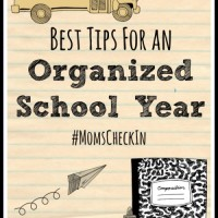 Best Tips for an organized school year