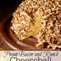 pecan bacon and ranch cheeseball