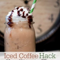 Iced Coffee Hack + Easy Morning Routines