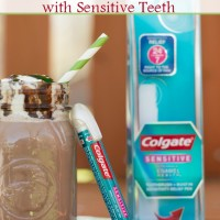 Colgate Sensitive Toothbrush with sensitivity pen