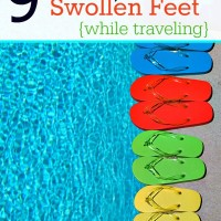 9 Tips on how to avoid swollen feet while traveling