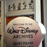 Disney Archives Entrance