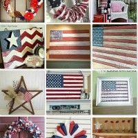 July 4th wall decor board on Hometalk