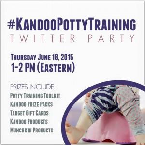 kandoo potty training twitter party