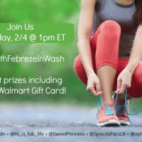 FitWithFebrezeInWash Twitter Party Photo