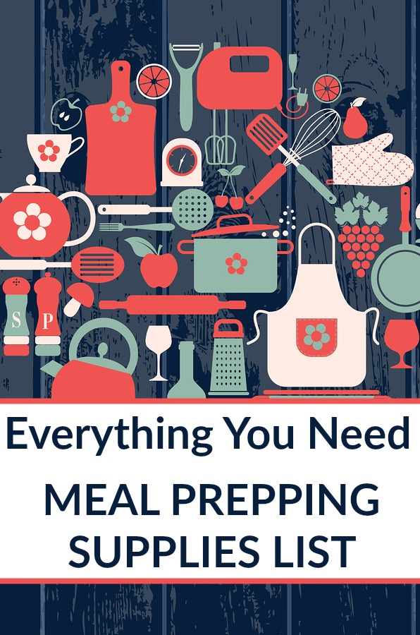 meal prep supplies list and batch cooking supplies list
