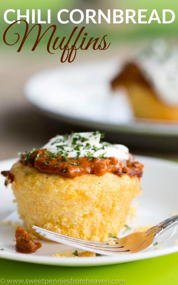 Easy chili cornbread muffins that are perfect for any weeknight meal!
