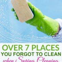 Over 7 Places You Forgot To Clean When Spring Cleaning