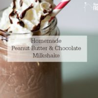 Peanut Butter and Chocolate Milkshake (Plus Dairy Free Milkshake Alternatives)