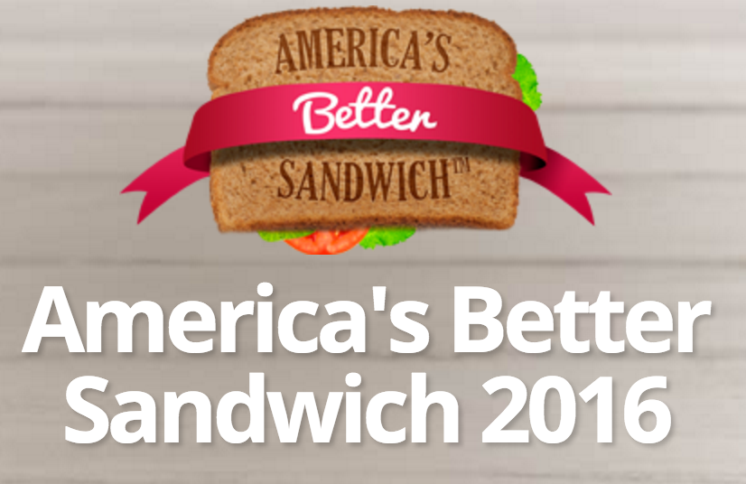 america's better sandwich contest 2016