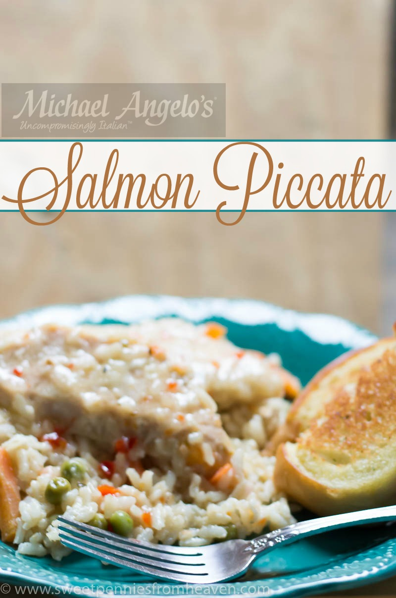 Michael Angelo's Salmon Piccata