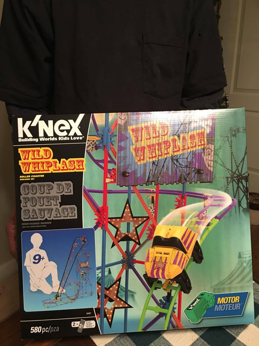 K'NEX Wild Whiplash Roller Coaster Building Set