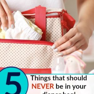 100% Natural Baby Products Alternatives + 5 Things to Leave OUT of Your Diaper Bag!