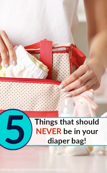 natural baby products + 5 things to leave out of your diaper bag!