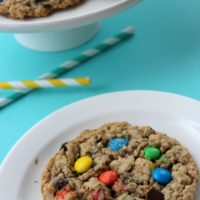 oatmeal monster cookies