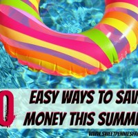 ways to save money this summer