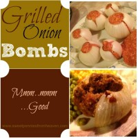 Grilling Recipe Onion Bombs