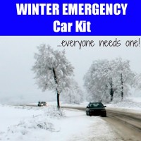 Winter Emergency Survival Kit for Cars
