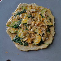 gourmet grillware tailgating chicken veggie pizza