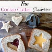 Cookie Cutter Sandwiches