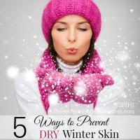 prevent dry winter skin