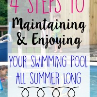clear up your swimming pool in 4 easy steps