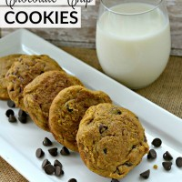 These pumpkin chocolate chip cookies are so light and cakey! Perfect for any fall occasion, it's an especially delicious and easy Thanksgiving cookie idea! www.sweetpenniesfromheaven.com