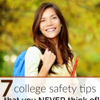 college safety tips for girls that you never think of