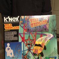 K'NEX Wild Whiplash Roller Coaster Building Set